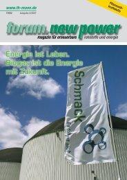 Neue Energie - nova-Institut GmbH