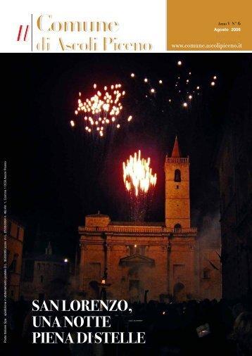quintana e musica - Comune di Ascoli Piceno