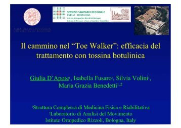 toe-walking idiopatico - CSR Congressi srl
