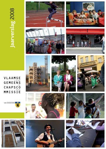 Jaarverslag 2008 - Vlaamse Gemeenschapscommissie