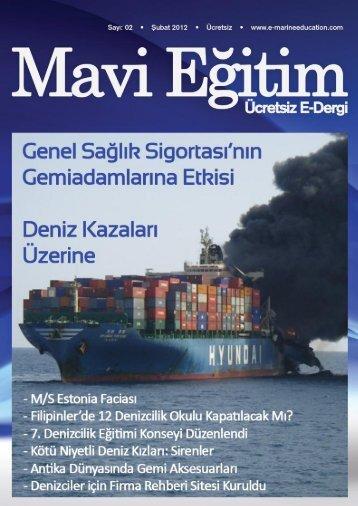 mavi eğitim 2 sayısını pdf olarak indirmek için - Van Denizcilik