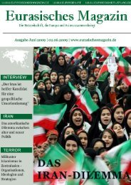 Organisationen, Ideologien und Strategien - Eurasisches Magazin