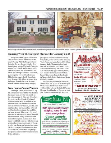 Download The Messenger – Nov. 9, 2012 pages 17 - Granite Quill ...