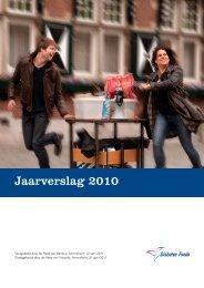 Jaarverslag 2010 - CBF