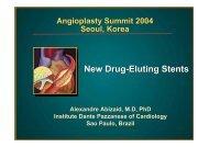 New Drug-Eluting Stents - summitMD.com