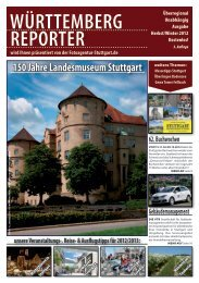 wintertipps 2012 - Württemberg Reporter Magazin
