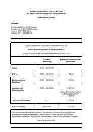 Anlage zum Kursblatt vom 26. Mai 2004 der Baden ... - Börse Stuttgart