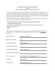 2012.2014 Draft Tech Plan 3 20 12 - Charlotte-Mecklenburg Schools