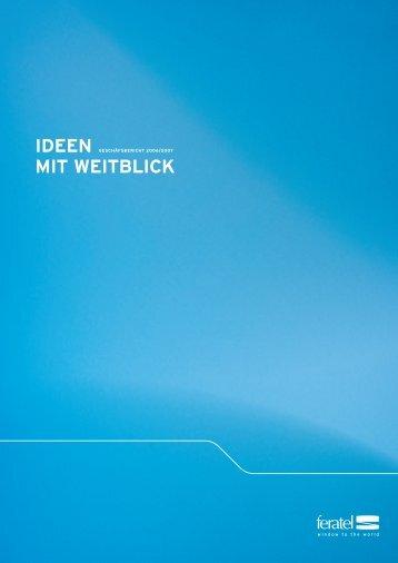 Ideen mIt weItblIck - feratel media technologies AG