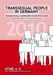 Transsexual people in germany - Office of the High Commissioner ...