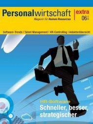 Personalwirtschaft Extra - tisoware Gesellschaft für Zeitwirtschaft mbH