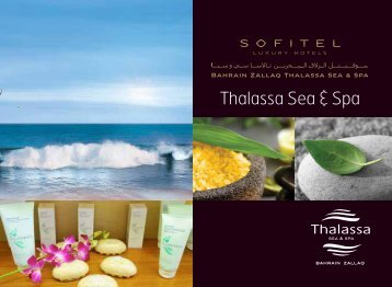 C ontents - Thalassa sea & spa