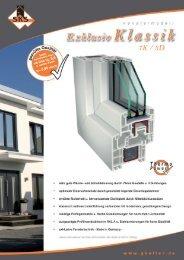 SKS Profil Excl. Klassik - G.Keller Fenster & Türen GmbH