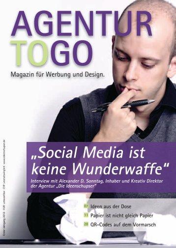 """""""Social Media ist keine Wunderwaffe"""" - Die Ideenschupser"""