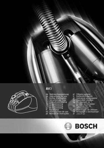 Attention - Bosch