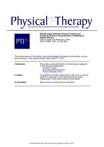 Physical Therapy research report how to