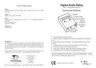 Digital Audio Delay - J.S.Technology