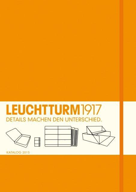 LEUCHTTURM1917 338722 Notizbuch Medium Hardcover A5 blanko limone