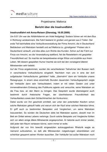 Inselrundfahrt mit Anna-Reisen (Dienstag, 16.05.2000)