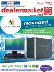 Oportunidades y Negocios entre Profesionales - dealermarket