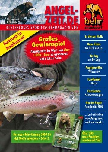 Angelzeit Heft Nr.10 - Behr Angelsport GmbH