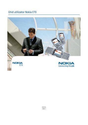 Ghid utilizator Nokia E70