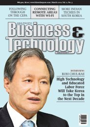 High Technology and Educated Labor Force Will Take Korea to the ...