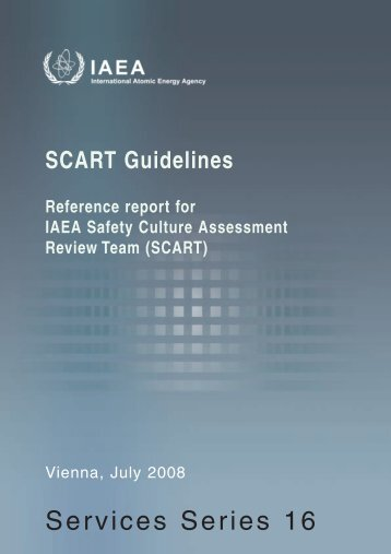 SCART Guidelines - Nuclear Safety and Security - IAEA
