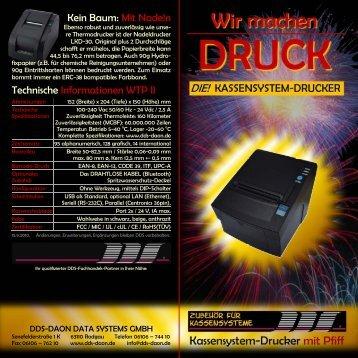 Drucker-Flyer - DDS Daon