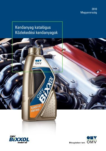 Kenôanyag katalógus Közlekedési kenôanyagok - Szerviz-Trade