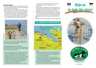 Tel. : 6947584112 and 6947886189 Help us to help the dogs!
