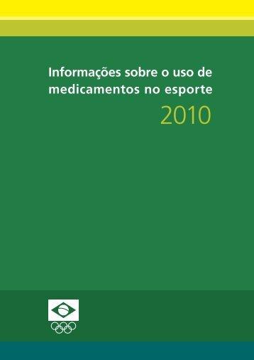 Informações sobre o uso de medicamentos no esporte - COB
