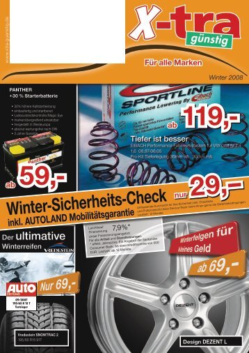 Winter-Sicherheits-Check - AUTOLAND
