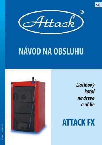 návod na obsluhu attack fx