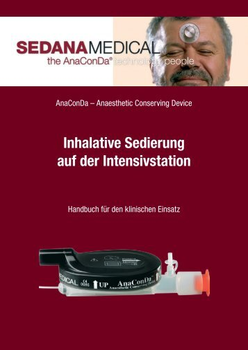 Inhalative Sedierung auf der Intensivstation - Sedana Medical