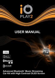 USER MANUAL - iO Talk & iO Play