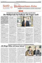 Wir fragen nach! - Sozialverband Deutschland e.V., Landesverband ...