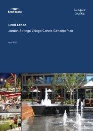 DLL_Jordan Springs Village Centre Concept Plan.indd - Penrith City ...