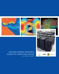 NATIONAL ENERGY RESEARCH SCIENTIFIC COMPUTING CENTER