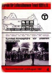 Ausgabe 4/1987 - VfL-Tegel 1891 e.V.