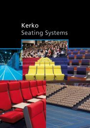 Kerko Seating Systems - Scandi Sport AS