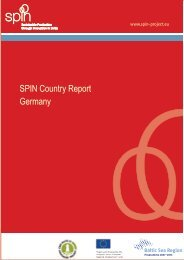 Country report for Germany - spin