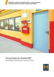 Víceúčelové dveře MZ - Hörmann