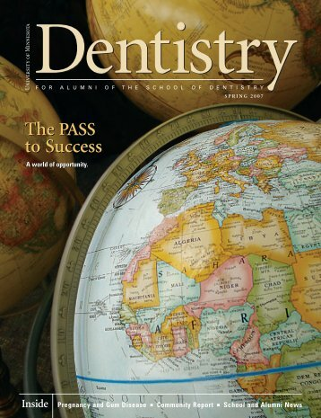 The PASS to Success The PASS to Success - School of Dentistry ...