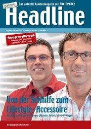 Von der Sehhilfe zum Lifestyle-Accessoire - Die Rheinpfalz