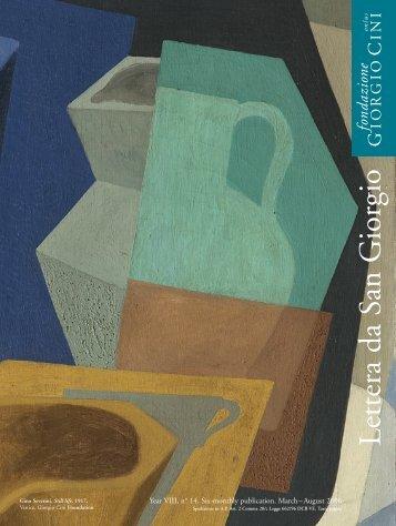 San Giorgio Lettera 14 UK - Fondazione Giorgio Cini