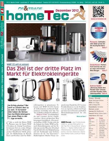 digital M arkt homeTec homeTecDezember 2012