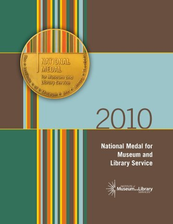 2010 National Medal for Museum and Library Service - Institute of ...