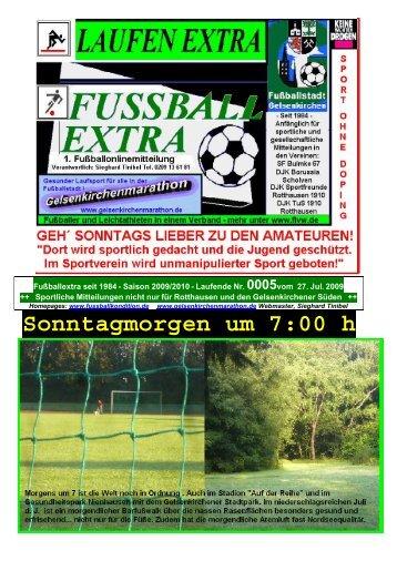 DJK TuS Rotthausen II: 2 - Gelsenkirchen Marathon