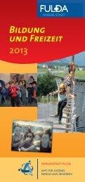 Bildung und Freizeit 2013 - in Fulda